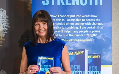 Tracey's launches her inspirational book – Hidden Strength