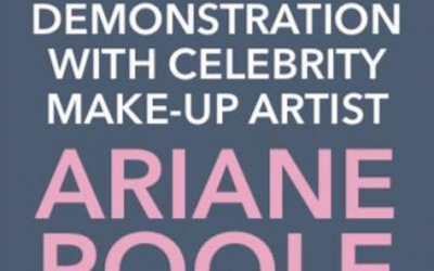 A make up demonstration with celebrity make up artist Ariana Poole