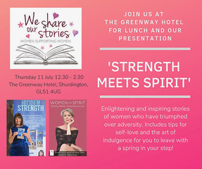 STRENGTH MEETS SPIRIT – July 11th The Greenway Hotel